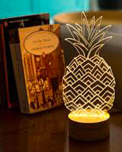 Lampe ananas Finish Line
