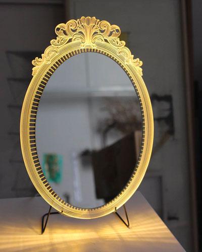 Miroir lumineux Finish Line