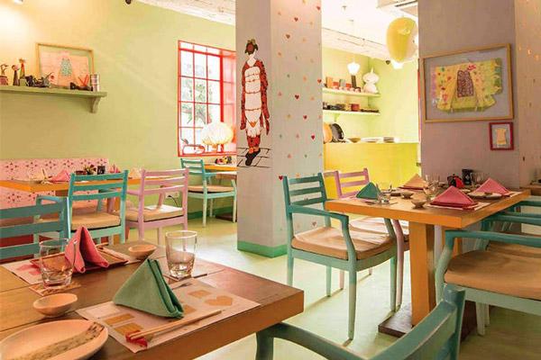 Les restaurants de Chloé Guppy