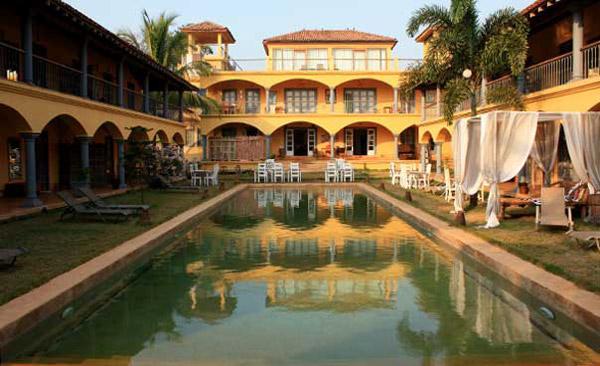 Sur la mer Goa