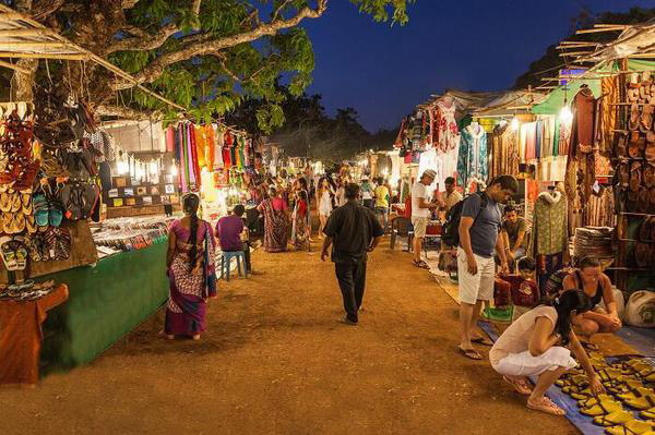 Staruday Night Market Goa