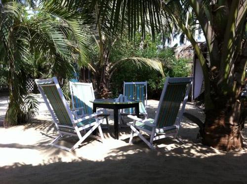 La plage Goa