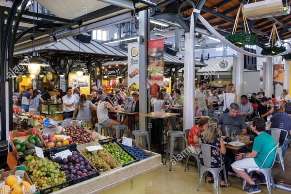 Carnet d'adresses de Chloé à Lisbonne, le marché