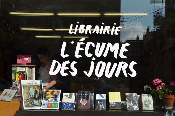 Carnet d'adresses de Danielle à Paris, L'Ecume des pages