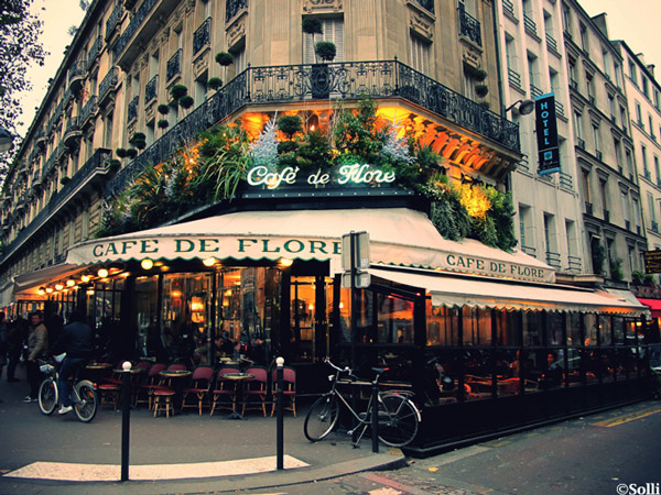 Carnet d'adresses de Danielle à Paris, Café de Flore