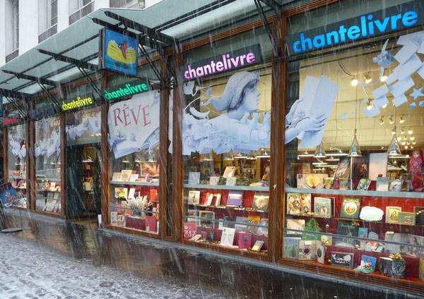 Carnet d'adresses de Danielle à Paris, Chantelivre