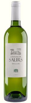 Château de Saurs bouteille vin blanc