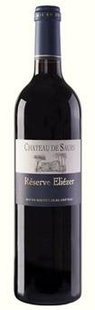 Château de Saurs bouteille vin rouge