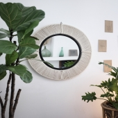 Mirror, mirror...always giving a nice touch of deco in your home, for all rooms. We have a large range of different design, different size, style, nice gift ideas for christmas...come to visit us! . . . #mirror#homedecor#honoré#roundmirror#giftideaforchristmas#interiordesign#decor#forhome#forallrooms#reflection#style#frenchdesigner#madeinmorocco#lovemirrors#espelho#decoraçãodecasa#decoração#estilo#idéiadopresene denatal#lappartementbynanaki#lisbon#portugal